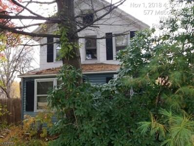 577 Macopin Rd, West Milford Twp., NJ 07480 - MLS#: 3515882