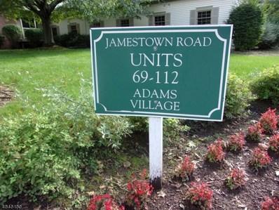 84 Jamestown Rd UNIT 84, Bernards Twp., NJ 07920 - MLS#: 3518156