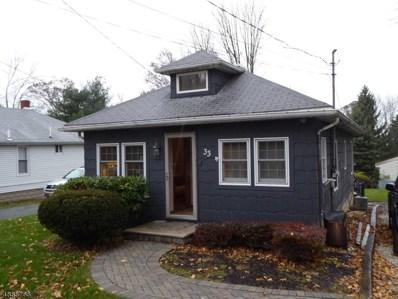 33 Flanders Rd, Mount Olive Twp., NJ 07828 - MLS#: 3518722