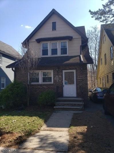 40 Elm Rd, Caldwell Boro Twp., NJ 07006 - MLS#: 3546516