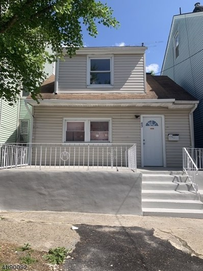 43 N York St, Paterson City, NJ 07524 - MLS#: 3556524