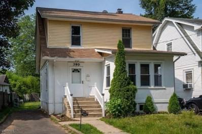 390 Harvey Pl, Plainfield City, NJ 07062 - MLS#: 3576789
