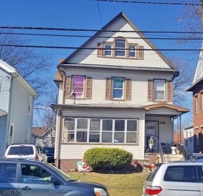 426-28 W 5TH St, Plainfield City, NJ 07060 - MLS#: 3620357
