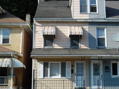 753 S Main St, Phillipsburg Town, NJ 08865 - #: 3651804