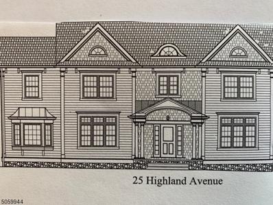 25 Highland Ave, Chatham Boro, NJ 07928 - MLS#: 3702137