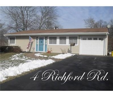 4 Richford Road, South Brunswick, NJ 08824 - MLS#: 1815750