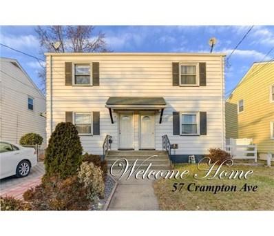 57 Crampton Avenue, Woodbridge Proper, NJ 07095 - MLS#: 1815919
