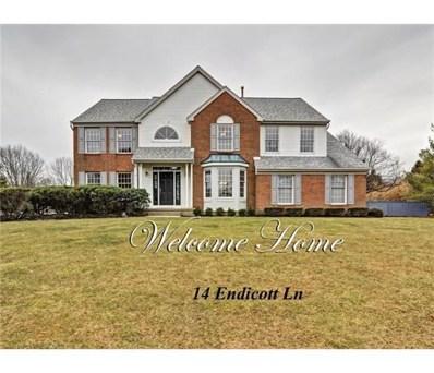 14 Endicott Lane, West Windsor, NJ 08550 - MLS#: 1817658