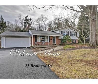 21 Brainerd Drive, Cranbury, NJ 08512 - MLS#: 1818366