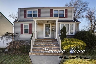 99 Bucknell Avenue, Woodbridge Proper, NJ 07095 - MLS#: 1818837