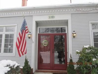 53D Winthrop Road, Monroe, NJ 08831 - MLS#: 1820600