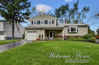 14 Drake Road, Franklin, NJ 08873 - MLS#: 1825814