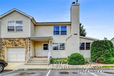 102 Exeter Court UNIT 102, Piscataway, NJ 08854 - MLS#: 1826911
