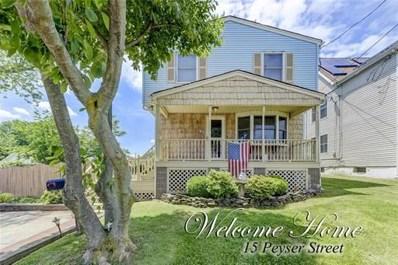15 Peyser Street, Woodbridge Proper, NJ 07095 - MLS#: 1827690