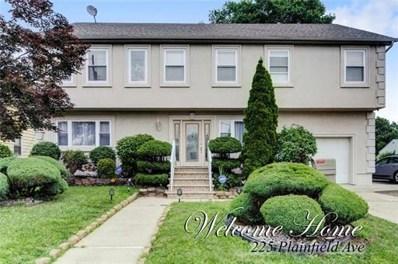 225 Plainfield Avenue, Edison, NJ 08817 - MLS#: 1828270
