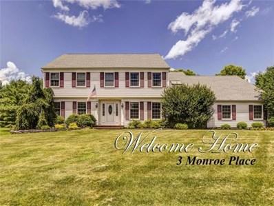 3 Monroe Place, Cranbury, NJ 08512 - MLS#: 1828342