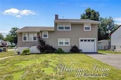 111 Burnham Drive, Fords, NJ 08863 - MLS#: 1828486