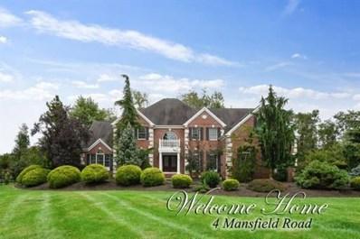 4 Mansfield Road, Franklin, NJ 08540 - MLS#: 1905857