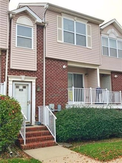 542 Great Beds Court UNIT 542, Perth Amboy, NJ 08861 - MLS#: 1910869