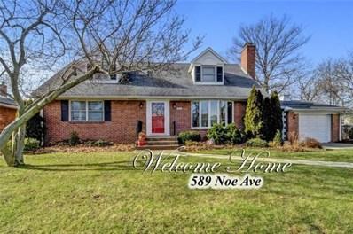589 Noe Avenue, Woodbridge Proper, NJ 07095 - MLS#: 1912774