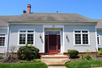 75 WINTHROP Road, Monroe, NJ 08831 - MLS#: 2016712