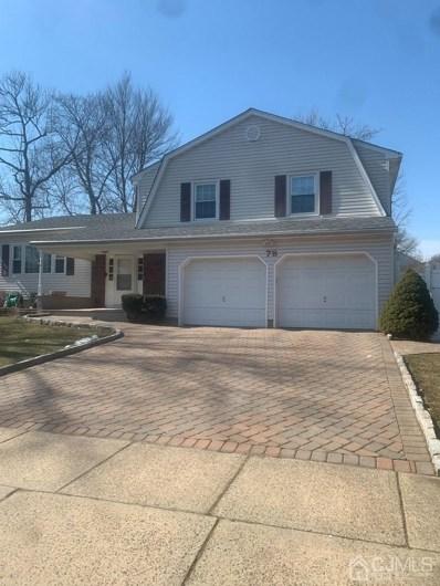 78 Stratford Circle, Edison, NJ 08820 - MLS#: 2113474R