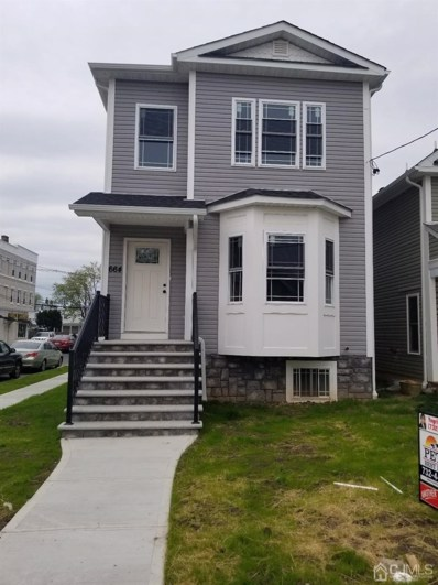 664 Cortland Street, Perth Amboy, NJ 08861 - MLS#: 2116393R