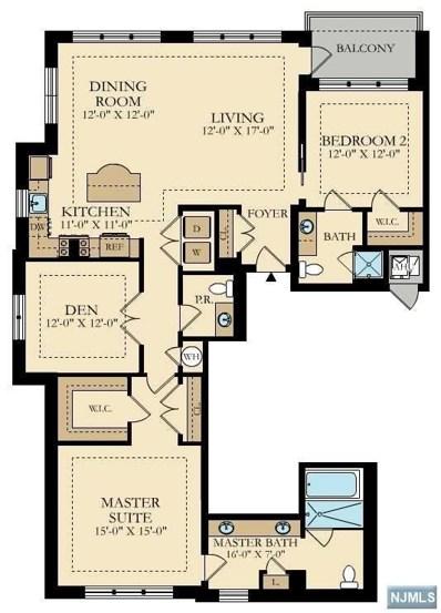 150 HENLEY Place UNIT 314, Weehawken, NJ 07086 - MLS#: 1748570