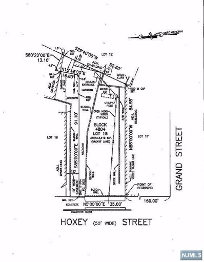 33 HOXEY Street, Paterson, NJ 07501 - MLS#: 1810362