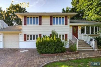 157 GRAHAM Terrace, Saddle Brook, NJ 07663 - MLS#: 1816460