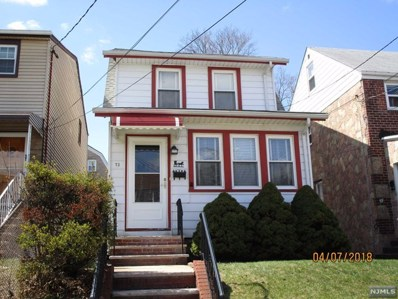 73 ILFORD Avenue, North Arlington, NJ 07031 - MLS#: 1818486
