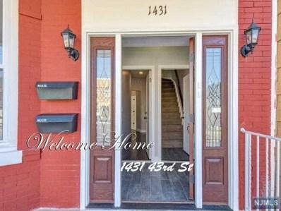 1431 43RD Street, North Bergen, NJ 07047 - MLS#: 1835799