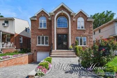 223 VIRGINIA Avenue, Fort Lee, NJ 07024 - MLS#: 1836282