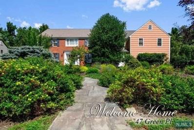 47 GREEN Place, North Caldwell, NJ 07006 - MLS#: 1836989