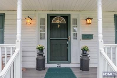 20 EASTVIEW Avenue, Mahwah, NJ 07430 - MLS#: 1843438