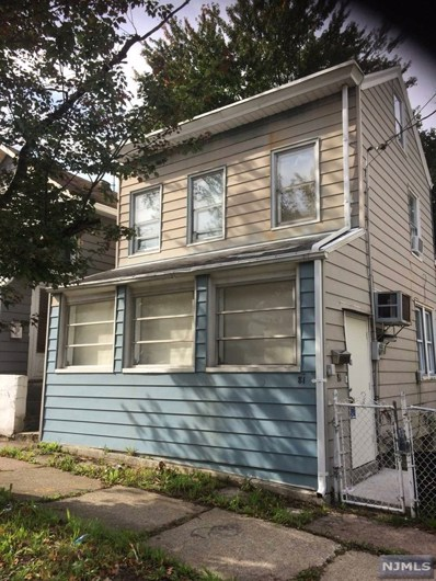 81 NEWARK Avenue, Paterson, NJ 07503 - MLS#: 1843545