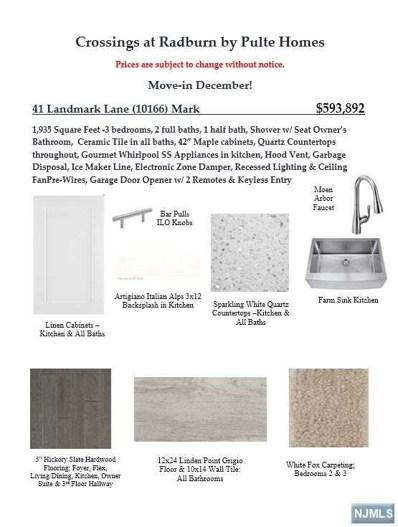 41 LANDMARK Lane UNIT 10166, Fair Lawn, NJ 07410 - MLS#: 1945312