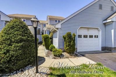8B Melborn Drive, Monroe, NJ 08831 - MLS#: 21807222