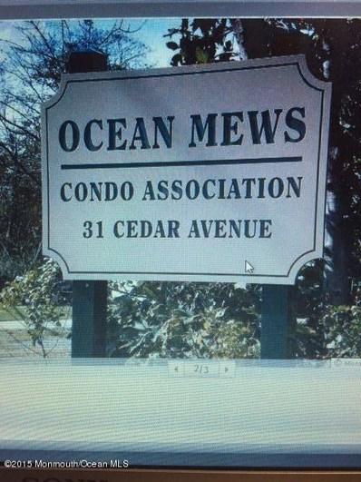 31-3 Cedar Avenue UNIT 3, Long Branch, NJ 07740 - MLS#: 21810481