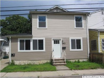 143 Center Avenue UNIT 1, Keansburg, NJ 07734 - MLS#: 21814732