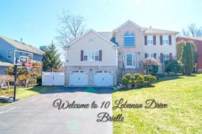 10 Lebanon Drive, Brielle, NJ 08730 - MLS#: 21814840