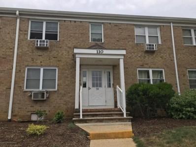 110 Stonehurst Boulevard UNIT D, Freehold, NJ 07728 - MLS#: 21826799
