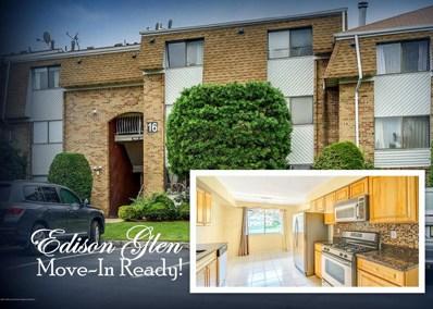 1606 Edison Glen Terrace UNIT 1606, Edison, NJ 08837 - MLS#: 21837058
