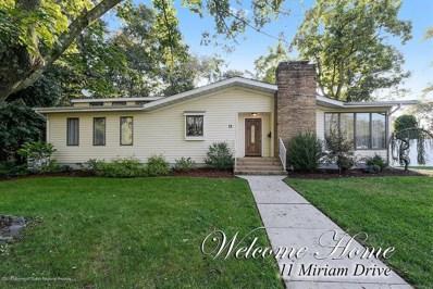 11 Miriam Drive, Matawan, NJ 07747 - MLS#: 21839281