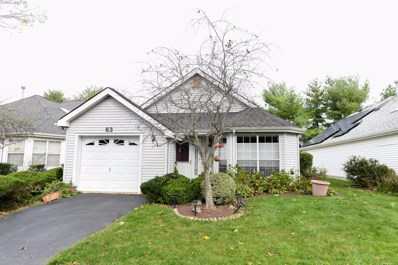 63 Hazel Drive, Freehold, NJ 07728 - MLS#: 21840637