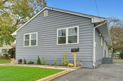 33 Myrtle Avenue, Long Branch, NJ 07740 - MLS#: 21844223