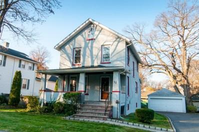 31 Newman Street, Metuchen, NJ 08840 - MLS#: 21845310