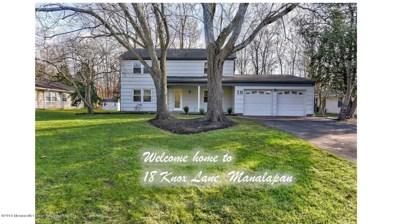 18 Knox Lane, Manalapan, NJ 07726 - MLS#: 21846203