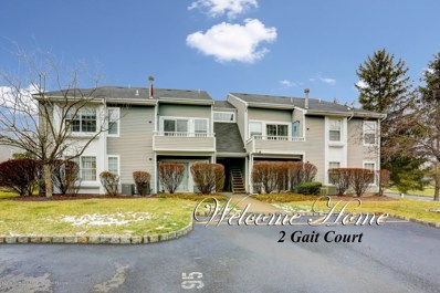 2 Gait Court, Tinton Falls, NJ 07753 - MLS#: 21902861
