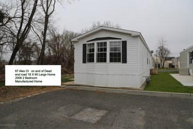 67 Alex Court, Hazlet, NJ 07730 - MLS#: 21914656